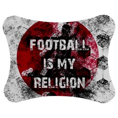 Football Is My Religion Jigsaw Puzzle Photo Stand (bow) by Valentinaart