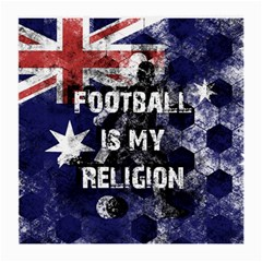 Football Is My Religion Medium Glasses Cloth by Valentinaart
