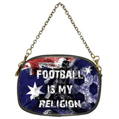 Football Is My Religion Chain Purses (two Sides)  by Valentinaart