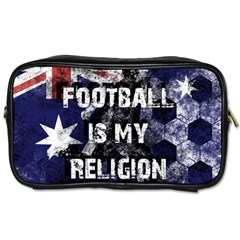 Football Is My Religion Toiletries Bags 2 Side by Valentinaart