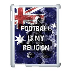 Football Is My Religion Apple Ipad 3/4 Case (white) by Valentinaart