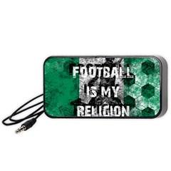 Football Is My Religion Portable Speaker
