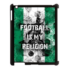 Football Is My Religion Apple Ipad 3/4 Case (black) by Valentinaart