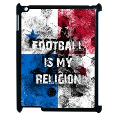 Football Is My Religion Apple Ipad 2 Case (black) by Valentinaart