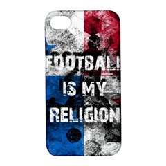 Football Is My Religion Apple Iphone 4/4s Hardshell Case With Stand