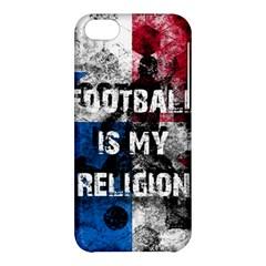Football Is My Religion Apple Iphone 5c Hardshell Case by Valentinaart