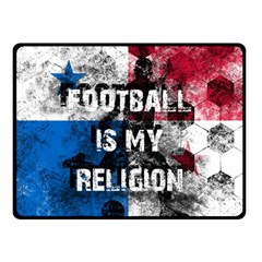 Football Is My Religion Double Sided Fleece Blanket (small)  by Valentinaart