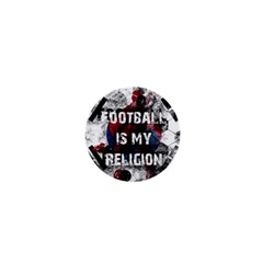 Football Is My Religion 1  Mini Magnets by Valentinaart
