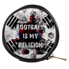 Football Is My Religion Mini Makeup Bags by Valentinaart