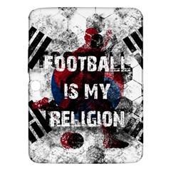 Football Is My Religion Samsung Galaxy Tab 3 (10 1 ) P5200 Hardshell Case  by Valentinaart
