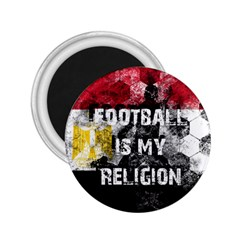 Football Is My Religion 2 25  Magnets by Valentinaart