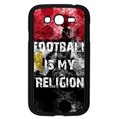 Football Is My Religion Samsung Galaxy Grand Duos I9082 Case (black) by Valentinaart