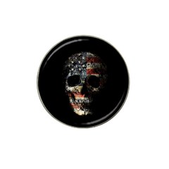 Skull Hat Clip Ball Marker (10 Pack) by Valentinaart