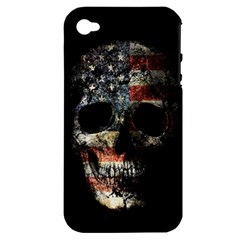 Skull Apple Iphone 4/4s Hardshell Case (pc+silicone) by Valentinaart