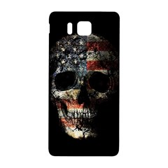 Skull Samsung Galaxy Alpha Hardshell Back Case by Valentinaart