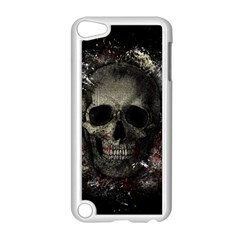Skull Apple Ipod Touch 5 Case (white) by Valentinaart