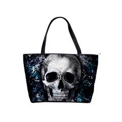Skull Shoulder Handbags by Valentinaart