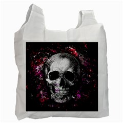 Skull Recycle Bag (one Side) by Valentinaart