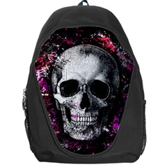 Skull Backpack Bag by Valentinaart