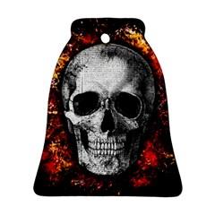 Skull Ornament (bell) by Valentinaart