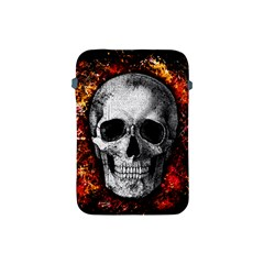Skull Apple Ipad Mini Protective Soft Cases by Valentinaart