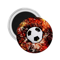 Football  2 25  Magnets by Valentinaart