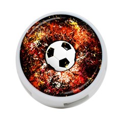 Football  4 Port Usb Hub (one Side) by Valentinaart