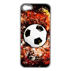 Football  Apple Iphone 5 Case (silver) by Valentinaart