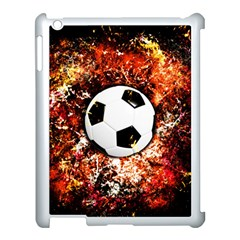 Football  Apple Ipad 3/4 Case (white) by Valentinaart
