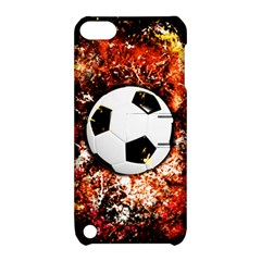 Football  Apple Ipod Touch 5 Hardshell Case With Stand by Valentinaart