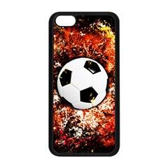 Football  Apple Iphone 5c Seamless Case (black) by Valentinaart