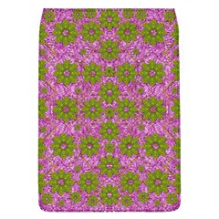 Paradise Flowers In Bohemic Floral Style Flap Covers (l)  by pepitasart