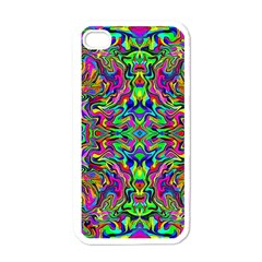 Colorful 15 Apple Iphone 4 Case (white)