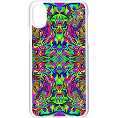 Colorful 15 Apple Iphone X Seamless Case (white) by ArtworkByPatrick