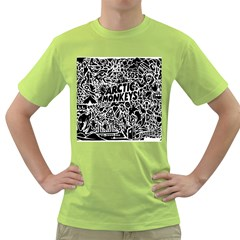 Arctic Monkeys Cool Green T Shirt