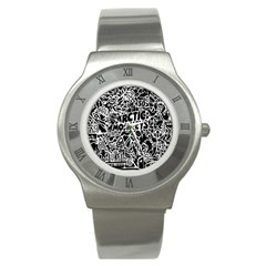 Arctic Monkeys Cool Stainless Steel Watch