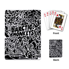 Arctic Monkeys Cool Playing Card