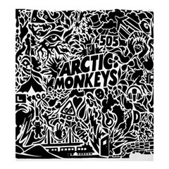 Arctic Monkeys Cool Shower Curtain 66  X 72  (large)
