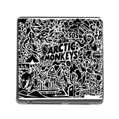 Arctic Monkeys Cool Memory Card Reader (square)