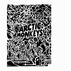 Arctic Monkeys Cool Small Garden Flag (two Sides)