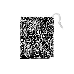 Arctic Monkeys Cool Drawstring Pouches (small)