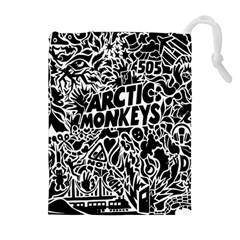 Arctic Monkeys Cool Drawstring Pouches (extra Large) by Samandel