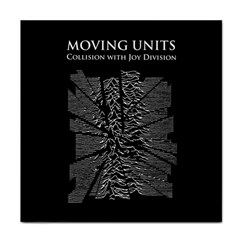 Moving Units Collision With Joy Division Tile Coasters