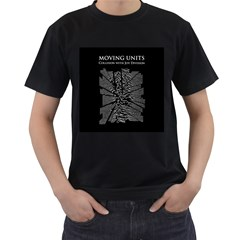 Moving Units Collision With Joy Division Men s T Shirt (black) (two Sided)