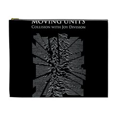 Moving Units Collision With Joy Division Cosmetic Bag (xl)