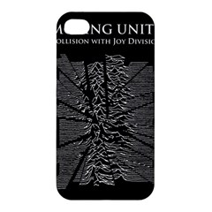 Moving Units Collision With Joy Division Apple Iphone 4/4s Hardshell Case