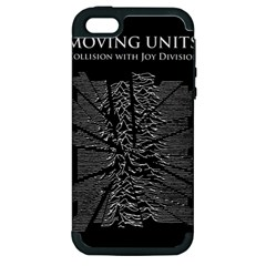 Moving Units Collision With Joy Division Apple Iphone 5 Hardshell Case (pc+silicone)