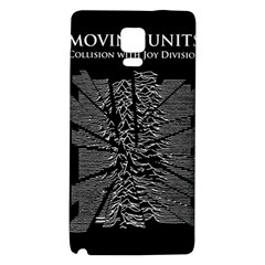 Moving Units Collision With Joy Division Galaxy Note 4 Back Case