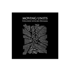 Moving Units Collision With Joy Division Satin Bandana Scarf