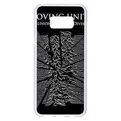 Moving Units Collision With Joy Division Samsung Galaxy S8 Plus White Seamless Case